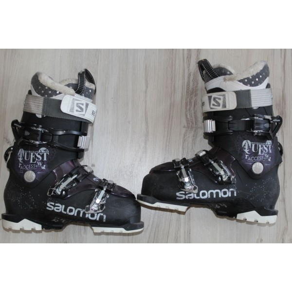 341 SALOMON X PRO W,   24,  EU 38,5, 286mm, flex 80